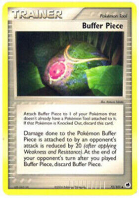 Pokemon Buffer Piece 72/101 EX Dragon Frontiers Uncommon NM-Mint Fast Shipping!