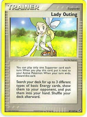 (DEOXYS-087) Lady Outing (U) Pokemon EX Deoxys Card # 87