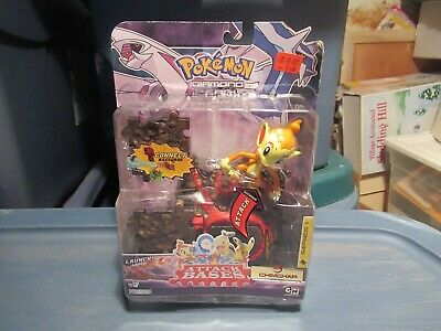 Pokemon Diamond & Pearl Chimchar with attack base Mint on Card