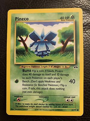 PINECO - Neo Discovery - 61/75 - Common - Pokemon Card - NM/VLP