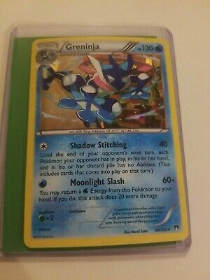 GRENINJA Pokemon Card - Shattered HOLO - RARE-  XY Breakpoint Set 40/122 - NM