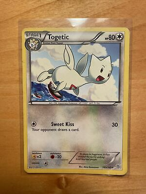 Togetic - 103/135 - Uncommon - BW Plasma Storm - NM - Pokemon