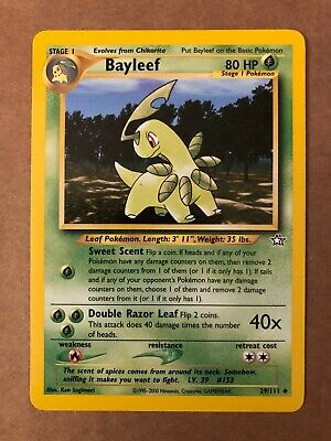 Pokemon Bayleef 29/111 Neo Genesis Near Mint See Pictures