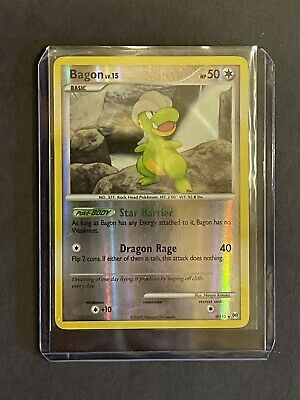 Pokemon Card Bagon SH10 Platinum Arceus Reverse Holo 2009 Rare Near Mint - Mint