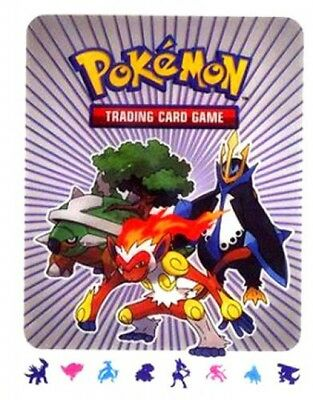Pokemon Diamond & Pearl 4-Pocket Binder [[Infernape, Torterra & Empoleon Cover]