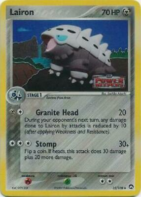 Lairon - 32/108 - Holo - Stamped - Ex Power Keepers**NM** POKEMON