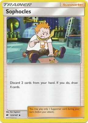 Sophocles - 123/147 - Sun & Moon: Burning Shadows **NM** POKEMON
