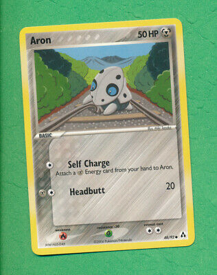 Aron 48/92 Pokemon EX Legend Maker Metal Common NM
