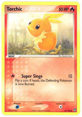 1x Torchic - 67/108 - Common EX Power Keepers Pokemon Near Mint