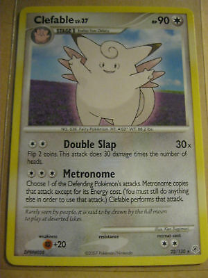Pokemon Tcg Rare Card- Clefable 22/130 -diamond & Pearl