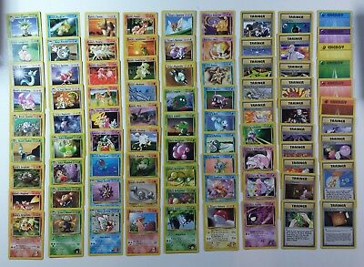 Gym Heroes Pokemon Card /132 NM - Rare Uncommon Trainer Energy $1 Flat Shipping