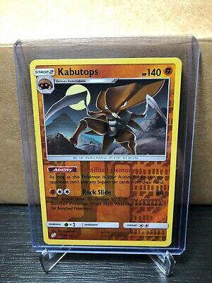 2019 Pokemon Team Up Kabutops Reverse Holo 78/181 (card #443)