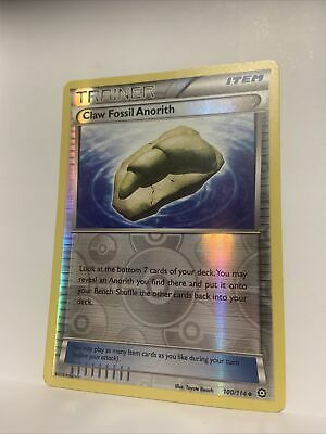Claw Fossil Anorith 100/114 Pokemon  XY Steam Siege Reverse Holo Mint  Trainer