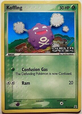 Koffing 72/113 Holo EX Delta Species 2005 Pokemon Card NM/Mint