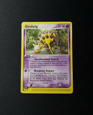 2003 Pokemon EX Dragon Girafarig 16/97 LP/MP