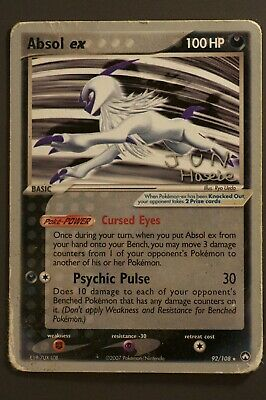 Pokemon_Absol ex_92/108_Power Keepers_Ultra Rare_HP