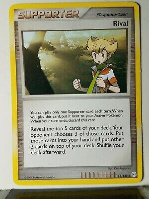 Rival 113/130 - PL - 2007 Diamond & Pearl Pokemon Card - $1 Combined Shipping