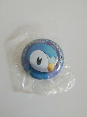Pokemon Piplup Button 2007 Diamond And Pearl Era Japanese NEW