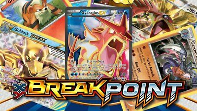 Pokemon Card XY: BREAKPoint Expansion Singles - Holo and Reverse Holo