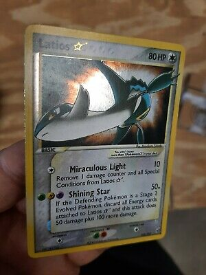 2005 Pokemon EX Deoxys Holo Latios Gold Star #106 PSA 6 quality  See Pics Clean!