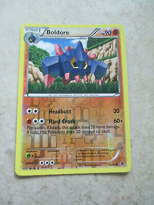 Boldore Emerging Powers FOIL 52/98 2011 Pokemon Card Lightly Played