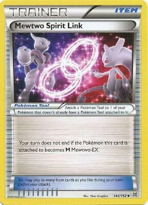 6x Mewtwo Spirit Link - 144/164 - Uncommon NM Pokemon XY Breakthrough