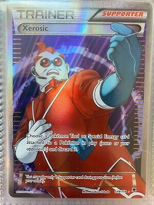 Xerosic Full Art NM Phantom Forces 119/119 Pokemon TCG