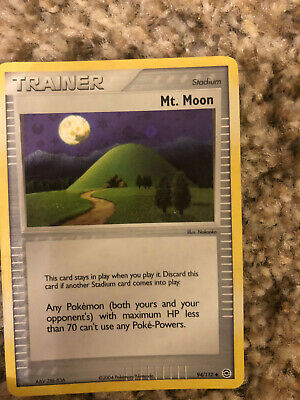 Pokemon TCG Mt. Moon from EX FireRed & LeafGreen