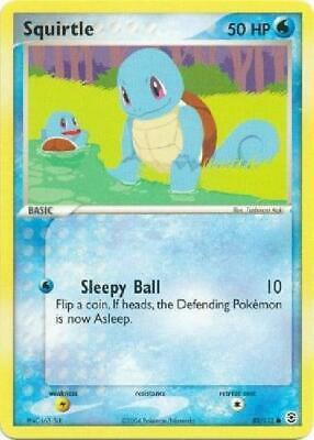 Squirtle - 82/112 - Common PL FireRed & LeafGreen Pokemon 2B3