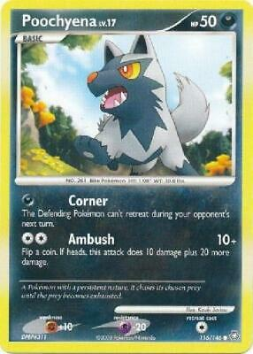 Poochyena - 116/146 - Common NM Legends Awakened Pokemon 2B3
