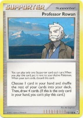 Professor Rowan - 112/130 - Uncommon NM Diamond & Pearl Pokemon 2B3