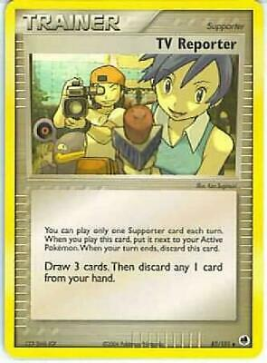 TV Reporter - 82/101 - Uncommon NM Dragon Frontiers Pokemon 2B3