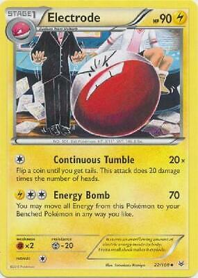 6x Electrode - 22/108 - Uncommon NM Pokemon XY Roaring Skies