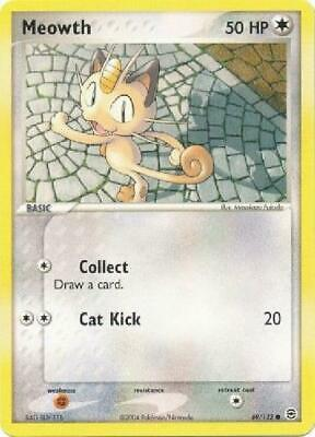 Meowth - 69/112 - Common NM FireRed & LeafGreen Pokemon 2B3