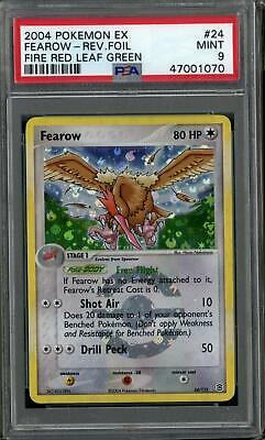 Pokemon EX FireRed LeafGreen FRLG Fearow 24/112 PSA 9