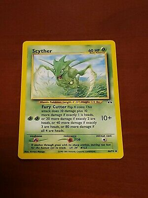Pokemon Scyther 46/75 Neo Discovery Unlimited LP-MP 1995-2001