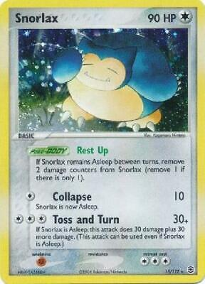 Snorlax - 15/112 - Holo Rare NM FireRed & LeafGreen Pokemon 2B3