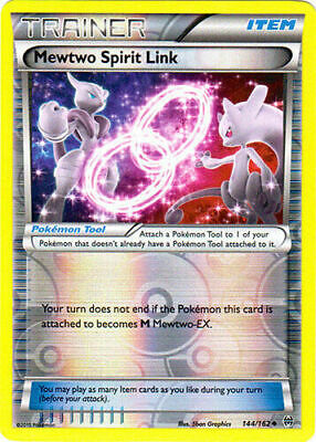 Mewtwo Spirit Link - 144/162 Uncommon Reverse Holo XY BREAKthrough - Pokemon TCG