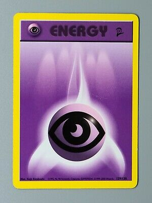 Psychic Energy 129/130 Base Set 2 Pokemon
