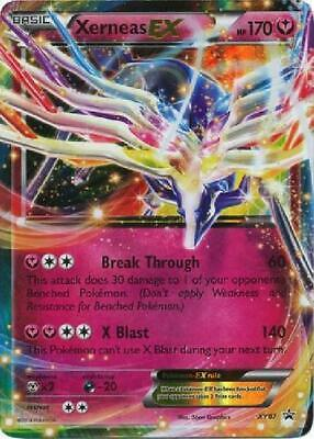 Xerneas-EX - XY07 - Ultra Rare NM Promo Pokemon