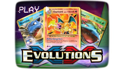 Pokemon TCG XY Evolutions Pick Your Card!  All 196 Cards Available!