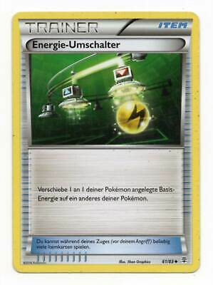 Energy Switch Energie-Umschalter 61/83 Non Holo Generations Pokemon Card German