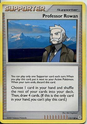 Pokemon Diamond & Pearl Base Uncommon #112/130. Professor Rowan
