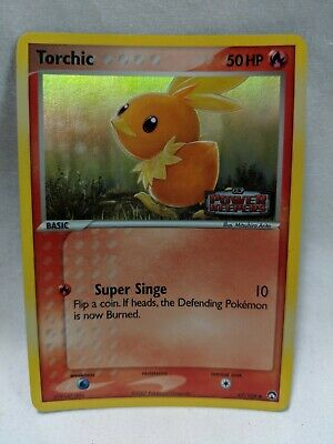 Pokemon Card Torchic EX Power Keepers 67/108
