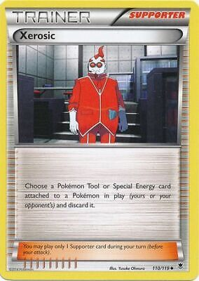 Xerosic 110/119 - Uncommon Pokemon Card - Phantom Forces Set (2014) - NM