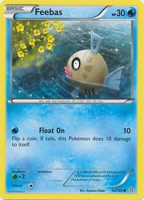 Feebas 43/160 - Common Pokemon Card - Primal Clash Set (2015) - NM