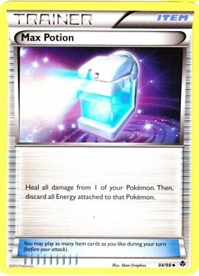 Pokemon Max Potion 94 Emerging Powers Uncommon Moderately Played Fast Shipping!