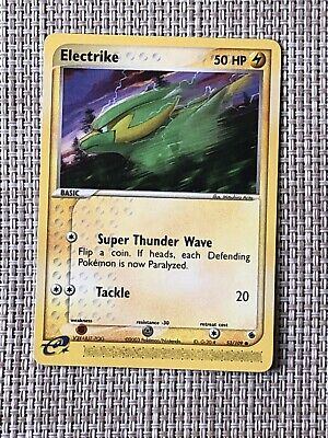 Pokemon ELECTRIKE 53/109 COMMON  NM CARD   RUBY AND SAPPHIRE