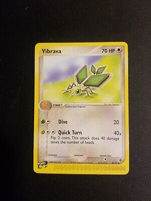 VIBRAVA - 47/97 - EX Dragon - Uncommon - Pokemon Card - NM