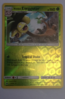 Pokemon - Alolan Exeggutor 2/131 - Sm Forbidden Light - Holo Foil - Rare - Lp